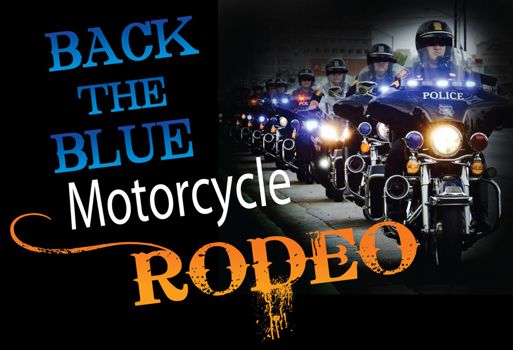 BackTheBlueMotorcycleRodeo